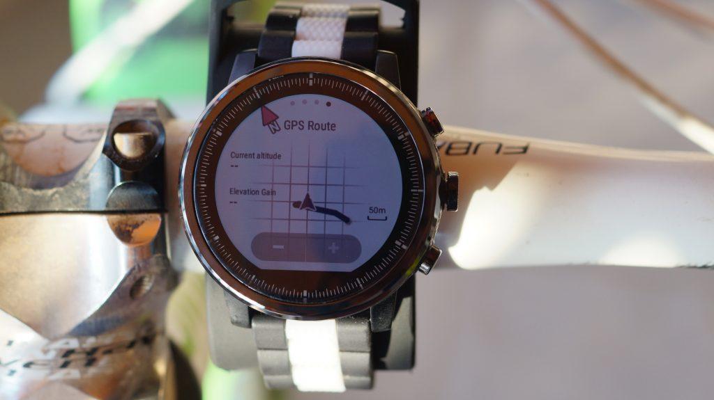 Stratos GPS Route