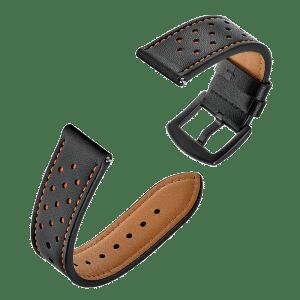 רצועת עור איכותית 22 מילימטר -Sikai Genuine Leather 22mm Watch band